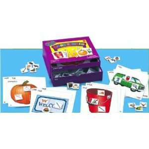 Word Families Phonics Center Kit Toys & Games