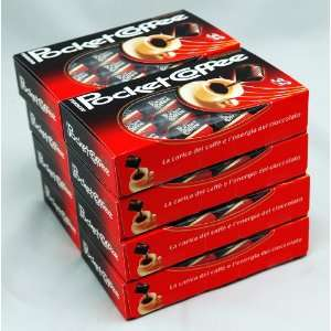 Pocket Coffee By Ferrero Italy   Case of 8 Boxes of 32 Pralines