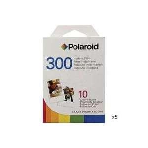 Polaroid PIF 300 Instant Film Pack of 5 10 Packs Camera