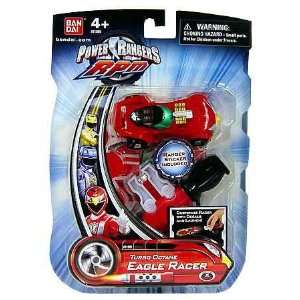 Power Rangers RPM Turbo Octane Zord Red Eagle Racer