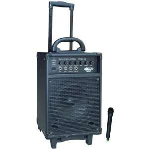 POWERED PA SYSTEM (INCLUDES 1 VHF WIRELESS MICROP