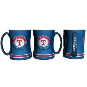 Texas Rangers MLB Coffee Mug   15Oz Sculpted  Sports