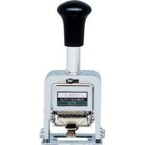 Lion Pro Line Heavy Duty 6 wheel 3/16 Auto Numbering Stamp Machine