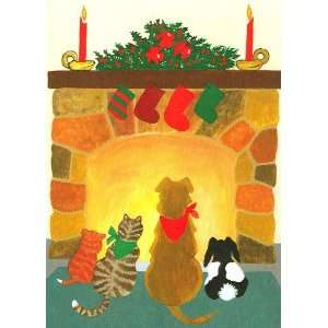 Dog Cat Rabbit Boxed Holiday Cards Stockings Health