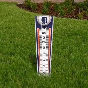 MLB Detroit Tigers Rain Gauge