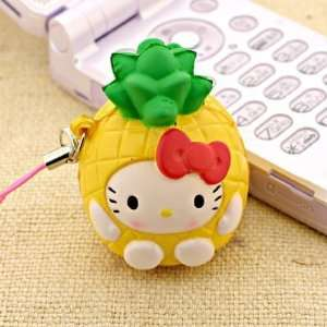 Sanrio Hello Kitty as Fresh Fruit Ball Cell Phone Strap