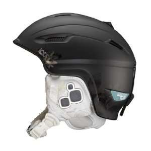 Salomon Aura 08 Custom Air Ski Helmet (Black Matt, XX