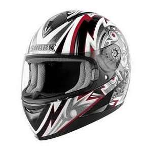 Shark S650 FRAME BK_RD_WT XL MOTORCYCLE Full Face Helmet
