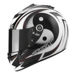 Shark RSX HOLOYANG BK_WH_SI 2XL MOTORCYCLE Full Face Helmet