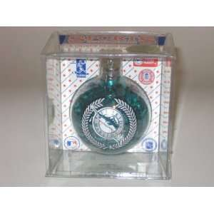 In Diameter) Color Filled Glass CHRISTMAS ORNAMENT