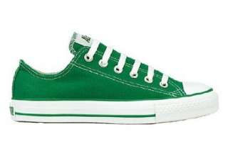 Converse Chuck Taylor All Star Lo Top Kelly Green Canvas