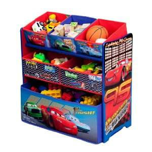 Disney Pixar Cars Multi Bin Toy Organizer Toys & Games