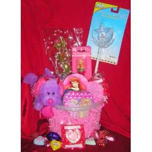 Little Girl Valentines Day Gift Basket