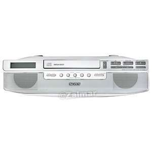Cabinet Kitchen CD Clock Radio (Model# ICF CD523): Everything Else