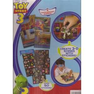 Toy Story 3 3 D Metallic Story Scene Watch Scenes Come to Life with