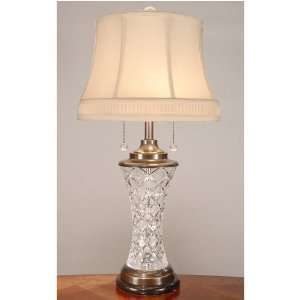 Dale Tiffany Traditional Crystal Table Lamp