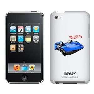 Hot Wheels twin mill blue on iPod Touch 4G XGear Shell