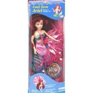 Disney COOL TEEN ARIEL doll The Little Mermaid TYCO 1992 Toys & Games