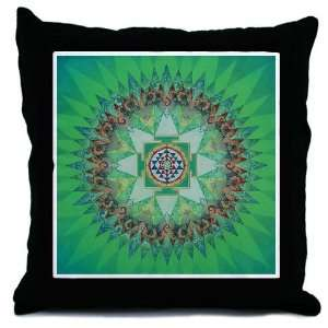 Sri Yantra Mandala Pillow Art Throw Pillow by CafePress