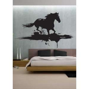 Modern Horse   Vinyl Wall Decals Murals Stickers Art