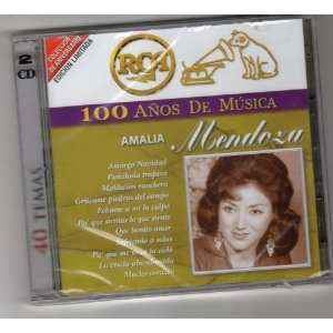 Amalia Mendoza 100 AÑOS DE MUSICA Rca 40 Temas AMALIA MENDOZA Music