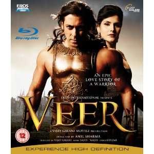 Veer Blu Ray Bollywood DVD 2010 [Blu ray]: Salman Khan
