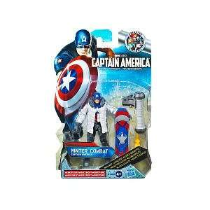 Captain America Movie 4 Inch Series 2 Action Figure Winter Combat