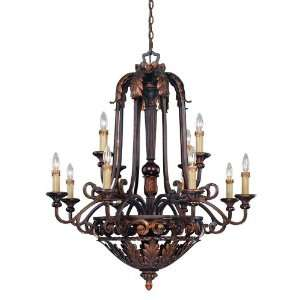 Savoy House 1 36751 12 76 Gallant 12 Light Two Tier Chandelier in