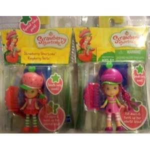Strawberry Shortcake & Raspberry Torte Mini Figure Playset