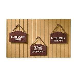Home Sweet Home Kitchen Plaques Set Home & Kitchen
