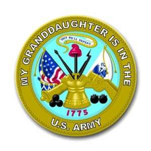 United States Army My Granddaughter is in the Army Seal
