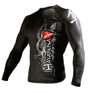 Hayabusa Mizuchi Rashguard   Long Sleeve   Black: Sports