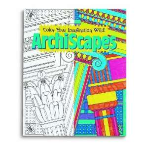 Mind Ware Stained Glass Archiscapes Coloring Book  Toys & Games