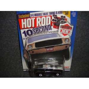 HOT WHEELS TARGET EXCLUSIVE HOT ROD EDITORS CHOICE BLACK 1970 MUSTANG