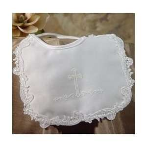 Little Things Mean Alot Satin Cross Bib Baby