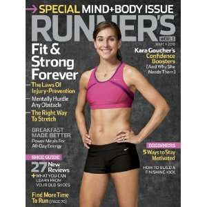 Runners World March 2010 Mind & Body Issue Shoe Guide