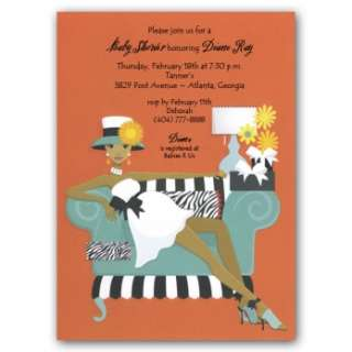 Home » African American Invitations » African American Baby Shower
