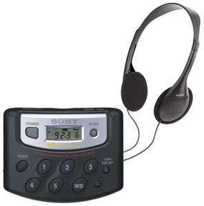 Sony SRF M37V AM/FM/TV/Weather Walkman Radio, at OneCall