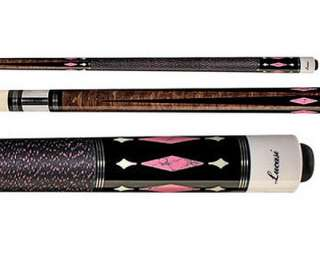 Lucasi Lady Pink Stone Inlay Pool Cue (L L30)
