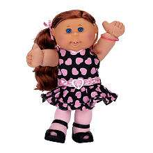 Cabbage Patch Kids Doll   Red Hair   Performer Girl   Jakks Pacific