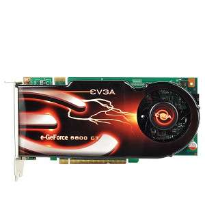 EVGA GeForce 8800GT 512MB DDR3 PCI Express (PCIe) Dual DVI Video Card