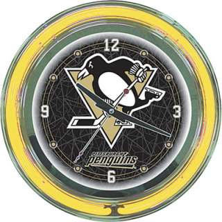 Neon Clock — NHL Pittsburgh Penguins Logo  www.kotulas  Free
