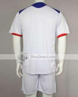 Wholesale LiaoQ Sport Clothes Men Football Clothing Set 2Pcs