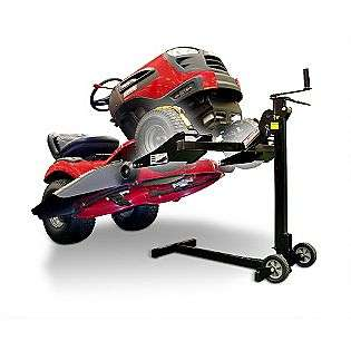 EZ Lawn Mower Lift  MoJack Lawn & Garden Riding Mowers & Tractors Lawn