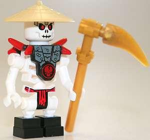 LEGO Ninjago Frakjaw Skeleton Minifigure w/ Scythe 2259