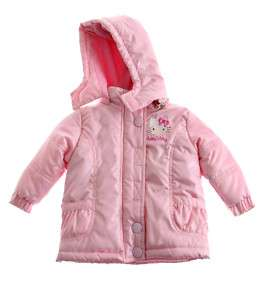GIRLS OFFICIAL HELLO KITTY JACKET COAT 12 18 2 3 5 6