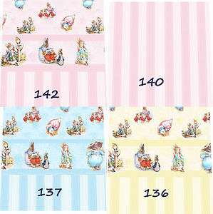 Doll House Beatrix Potter Nursery Wallpaper choice of 10 designs pink