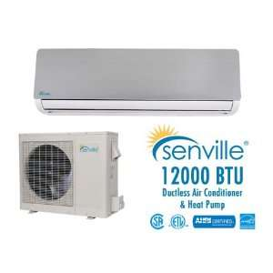 Senville 12000 BTU Ductless Air Conditioner and Heat Pump