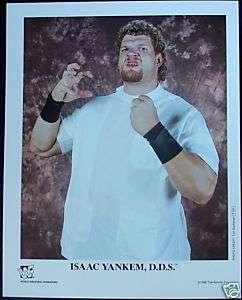 WWE WWF ISAAC YANKEM P 323 D.D.S KANE AUTHENTIC PROMO