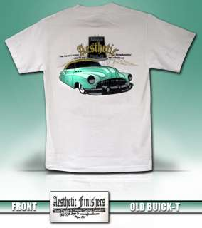 Aesthetic Finishers Old Buick Hot Rod T Shirt